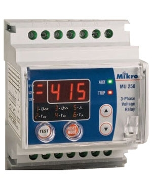 Relay bảo vệ điện áp Mikro MU 250-415