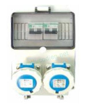 Tủ điện với MCB và ổ cắm IP67
