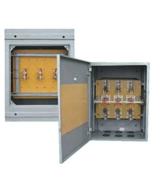 Cầu dao hộp đảo chiều 3 pha 3 cực CDH3PĐ CGQS 1000A 660V cực giữa quay sau