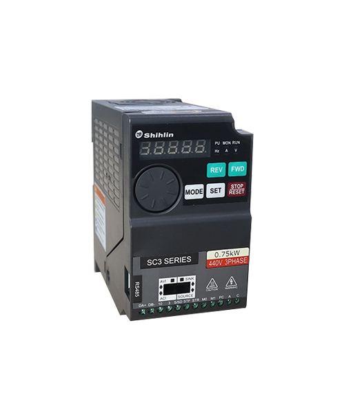 Biến tần Shihlin 0.2kW SC3-021-0.2K