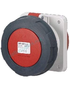 Ổ cắm gắn âm 125A – 4P – 400V – 6H IP 67