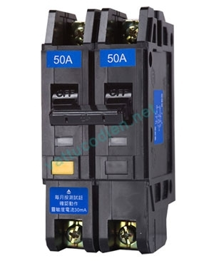 RCBO chống giật NVB-50L 2P (15-30)A 5KA