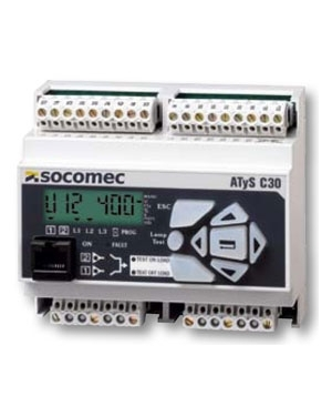 Bộ điều khiển Socomec ATS C30