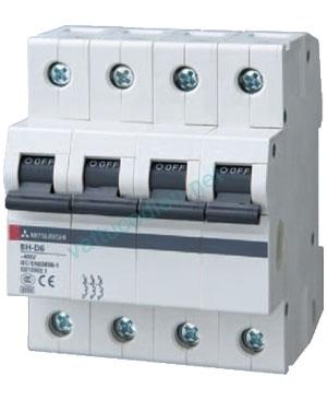Aptomat MCB 4P (10A-20A) 6kA