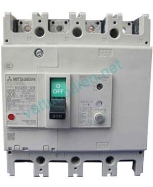 MCCB NF250-LGV 4P (125~250)A 50KA
