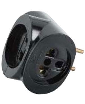 Đầu nối ổ cắm 3 ngã đa năng 6A 250V