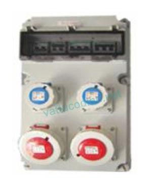 Tủ điện với MCB và ổ cắm IP67 61066VT