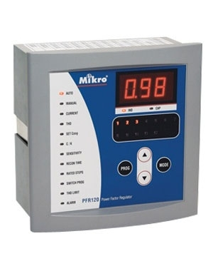 Bộ điều khiển tụ bù Mikro PFR80-415-50