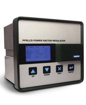 Bộ điều khiển tụ bù 12 cấp 1 CT Mikro PFRLCD120P-230-50