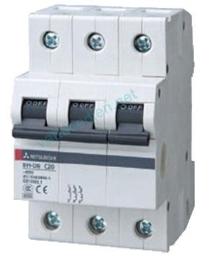 Aptomat MCB 3P (6A-40A) 6kA