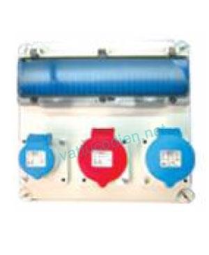 Tủ điện với MCB và ổ cắm IP44 61117VT
